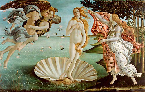 Sandro Botticelli - Birth of Venus (La nascita)