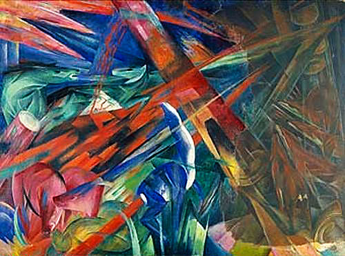 Franz Marc - Destiny of animals