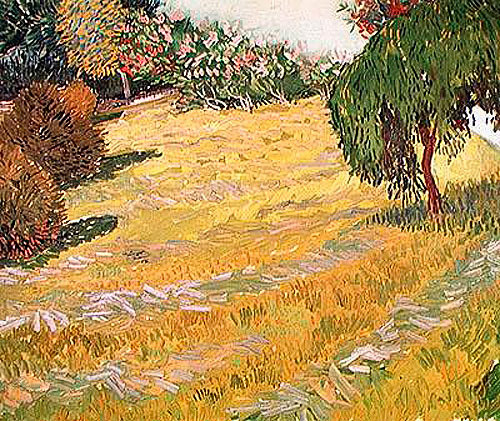 Vincent van Gogh - Field in Sunlight