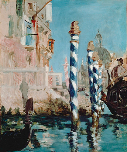 Edouard Manet - Grand Canal, Venice