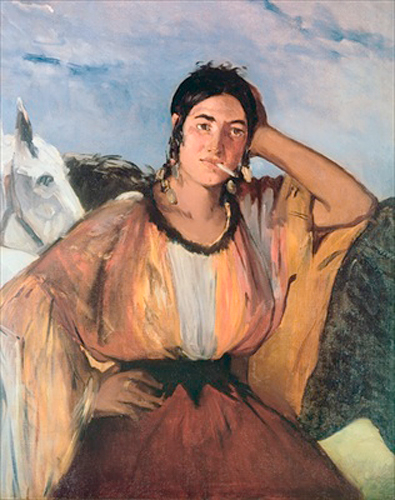 Edouard Manet - Gypsy with a Cigarette