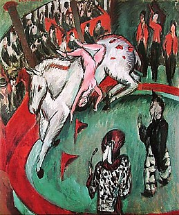 Ernst Ludwig Kirchner - The circus rider