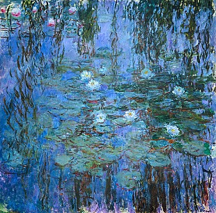 Claude Monet - Water lilies, 1916-19