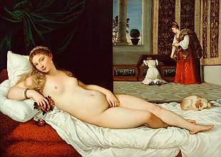 Tizian - The Venus of Urbino