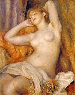Pierre-Auguste Renoir - Sleeping girl