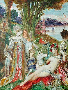 Gustave Moreau - The Unicorns
