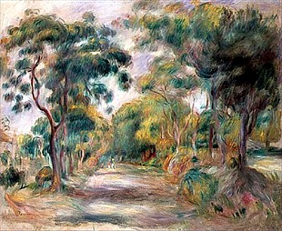 Pierre-Auguste Renoir - Landscape of the Midi