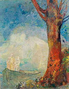 Odilon Redon - The Barque