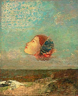 Odilon Redon - Homage to Goya