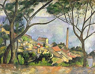 Paul Cézanne - The Sea at l'Estaque