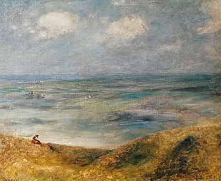 Pierre-Auguste Renoir - View of the Sea, Guernsey
