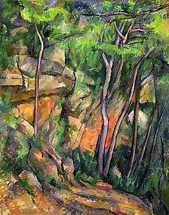 Paul Cézanne - In the Park of Chateau Noir