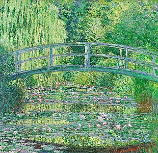 Claude Monet - The Waterlily Pond: Green Harmony