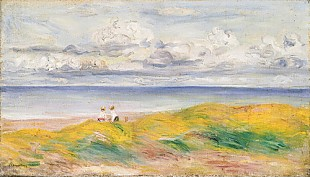 Pierre-Auguste Renoir - On the Cliffs; Sur la Falaise