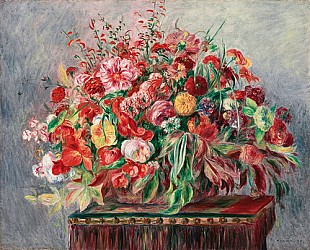 Pierre-Auguste Renoir - Basket of Flowers