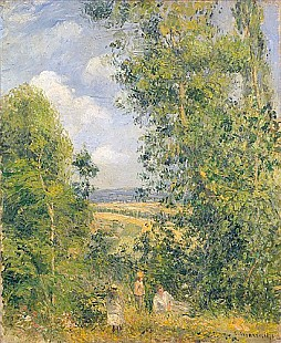 Camille Pissarro - A Rest in the Meadow