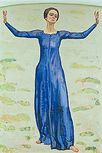 Ferdinand Hodler - Song in the Distance