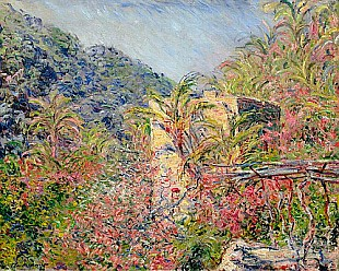 Claude Monet - Sasso Valley