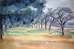 Paul Cézanne - The Road at Marines