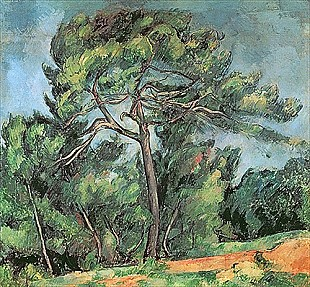Paul Cézanne - The Large Pine