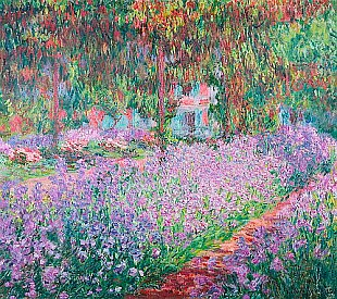 Claude Monet - The Artist's Garden at Giverny,