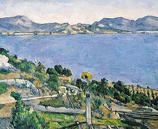 Paul Cézanne - L'Estaque, View of the Bay of Marseilles
