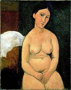 Amadeo Modigliani - Seated Nude