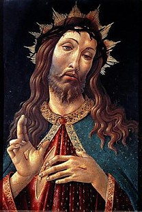 Sandro Botticelli - Ecce Homo, or The Redeemer