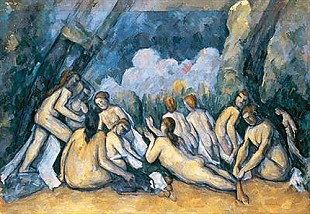 Paul Cézanne - The great bathers