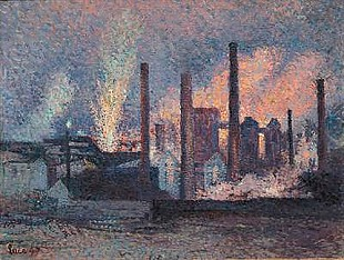 Maximilien Luce - Study for Factories near Charleroi