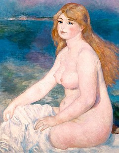 Pierre-Auguste Renoir - Blonde Bather II