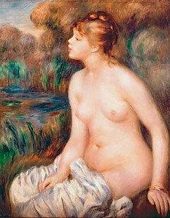 Pierre-Auguste Renoir - Seated Female Nude