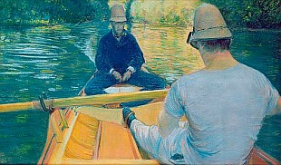 Gustav Caillebotte - Boaters on the Yerres