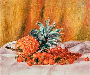 Pierre-Auguste Renoir - Strawberries and Pineapple