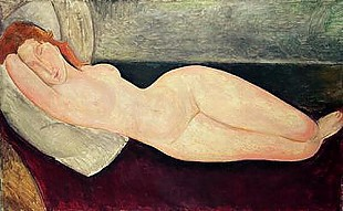 Amadeo Modigliani - Nude No.1