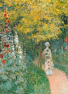 Claude Monet - Rose Garden