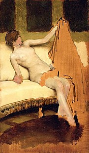 Sir Lawrence Alma-Tadema - Female Nude