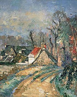 Paul Cézanne - Detour in Auvers