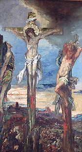 Gustave Moreau - Christ between the Two Thieves