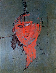 Amadeo Modigliani - The Red Head
