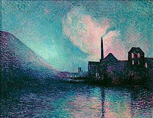 Maximilien Luce - Couillet by Night