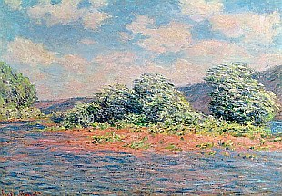 Claude Monet - The Seine at Port-Villez