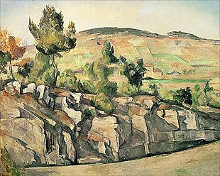 Paul Cézanne - Hillside in Provence