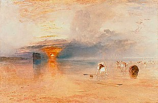 Joseph Mallord William Turner - Beach at Calais, 1830