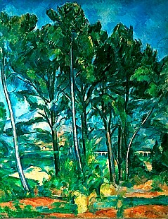 Paul Cézanne - The Aqueduct