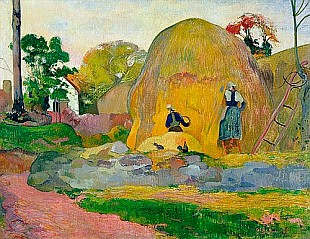 Paul Gauguin -  Golden Harvest