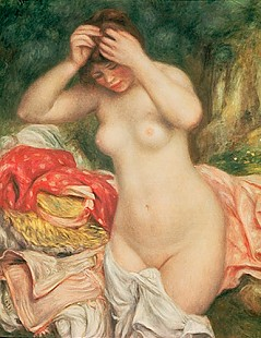 Pierre-Auguste Renoir - Bather Arranging her Hair