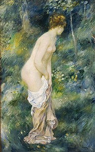 Pierre-Auguste Renoir - Standing Bather