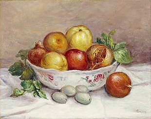 Pierre-Auguste Renoir - Still Life with a Pomegranate