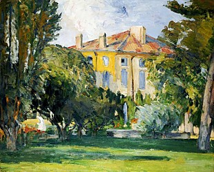 Paul Cézanne - The House of the Jas de Bouffan